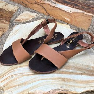 Free People Tan Sandals size 7